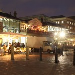 Covent Garden at night time